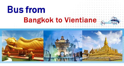 Bus from Bangkok to Vientiane