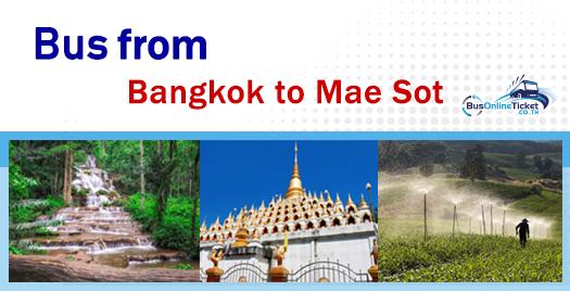 Bus from Bangkok to Mae Sot