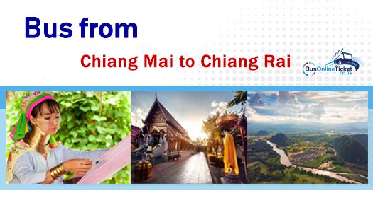 Bus from Chiang Mai to Chiang Rai