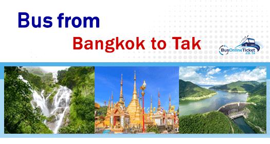 Bus from Bangkok to Tak