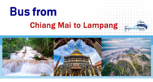 Bus from Bangkok to Lampang