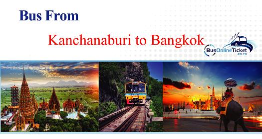 Bus from Kanchanaburi to Bangkok