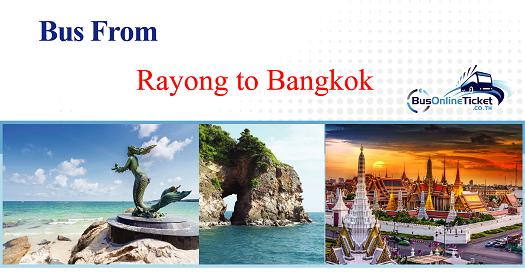 Bus from Rayong to Bangkok
