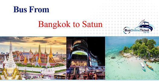Bus from Bangkok to Satun