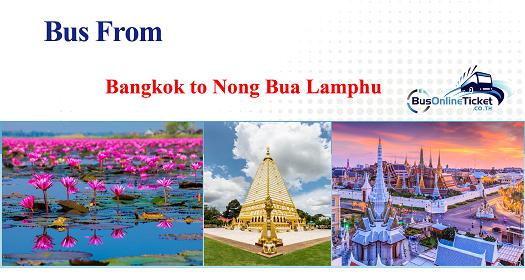 Bus from Bangkok to Nong Bua Lamphu