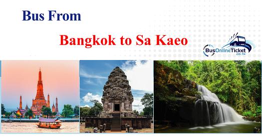 Bus from Bangkok to Sa Kaeo