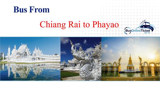 Bus from Chiang Rai to Phayao