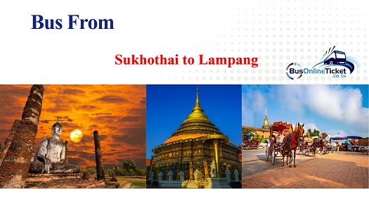Bus from Sukhothai to Lampang