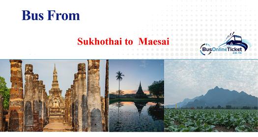 Bus from Sukhothai to Uttaradit
