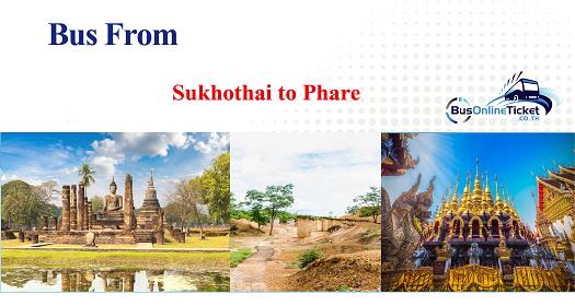 Bus from Sukhothai to Phrae