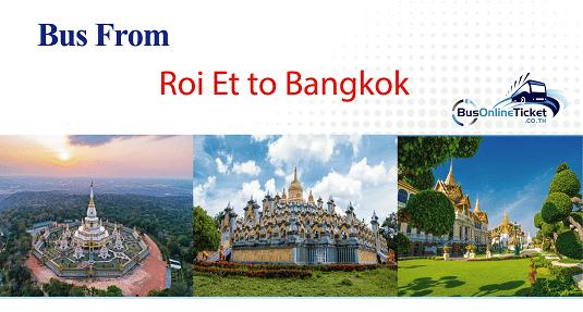 Bus from Roi Et to Bangkok