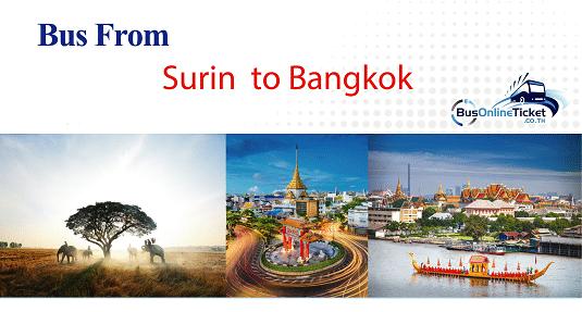 Bus from Surin to Bangkok