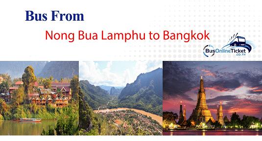 Bus from Nong Bua Lamphu to Bangkok
