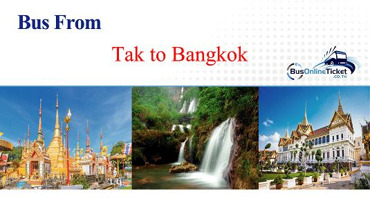 Bus from Tak to Bangkok