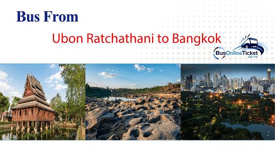 Bus from Ubon Ratchathani to Bangkok
