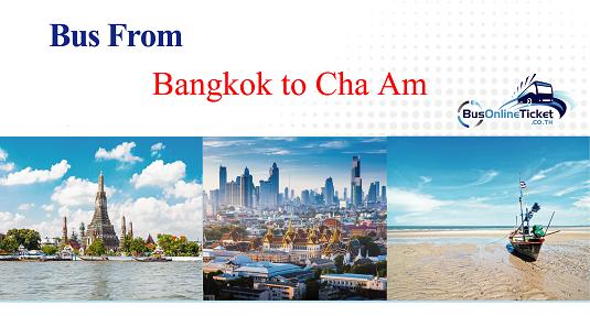 Bus from Bangkok to Cha Am