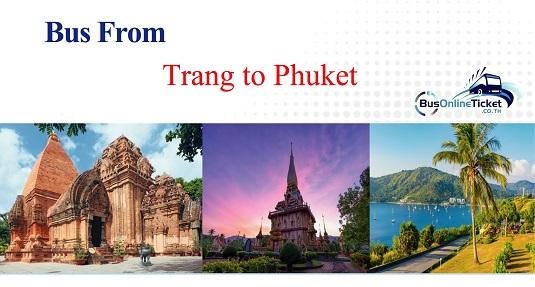 Bus from Trang to Phuket