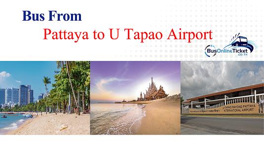 Bus from Pattaya to U Tapao Airport